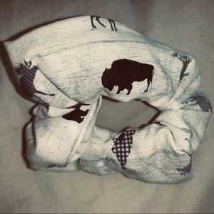 Bear Moose Scrunchie